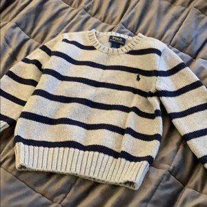 Toddler size 4 Polo sweater